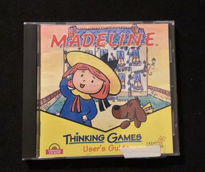 Madeline Thinking Games old PC game for Sale in Duluth, GA