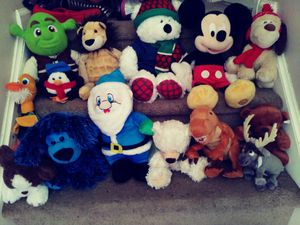 Stuffed animals all $25 for Sale in Lithonia, GA