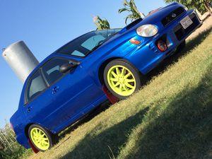 Clean title 02 Subaru wrx Impreza for Sale in Fowler, CA
