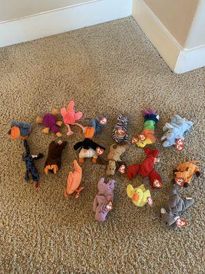 TY Teenie Beanie Babies Lot, 17 Total (McDonalds) for Sale in Tempe, AZ
