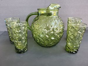 Milano Pitcher and Matching Tumblers for Sale in Midland, MI
