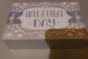 "3×5 ""Have a Great Day"" Canvas Decoration for Sale in Evesham Township, NJ"