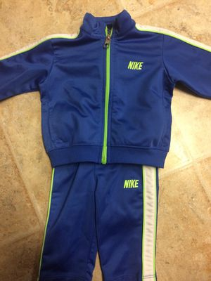 nike blue track outfit for Sale in Marengo, OH
