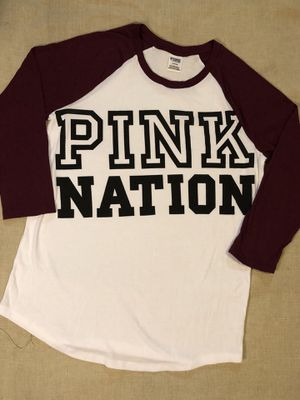 NEW VS PINK baseball Tee for Sale in Rosemead, CA