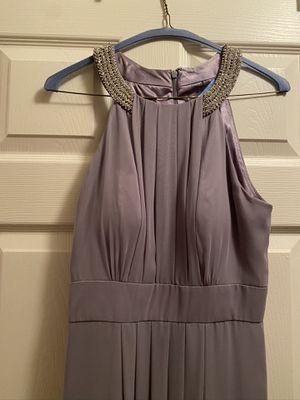 Eliza J long dress chiffon size 6 for Sale in Bolingbrook, IL