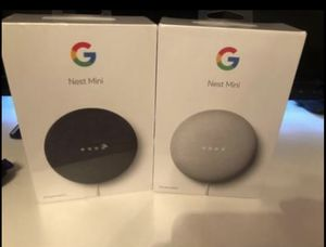 Google Nest Minis (BRAND NEW) for Sale in Springfield, MA