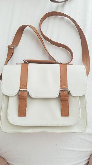 Faur fax leather messenger bag for Sale in Las Vegas, NV