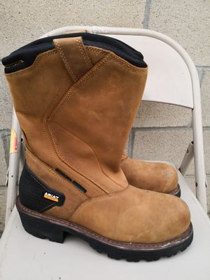 Ariat climber composite toe work boots size 9.5 D for Sale in Riverside, CA