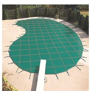 16 ft. x 32 ft. Rectangle Blue Mesh In-Ground Safety Pool Cover for Sale in Baldwin Park, CA