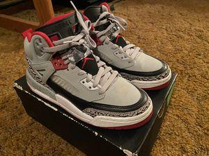 Jordan Spizike BG - Wolf Grey/Gym Red-Black/White for Sale in Kinston, NC