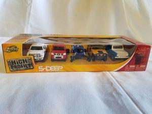 High Profile Jada Toys 5-Deep 1:64 Scale Die Cast Metal for Sale in Gilbert, AZ