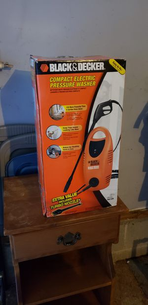 Black and Decker Electric Pressure Washer for Sale in Waldo, OH