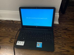 HP Laptop 500GB Storage Quad Core Processor for Sale in Gilroy, CA