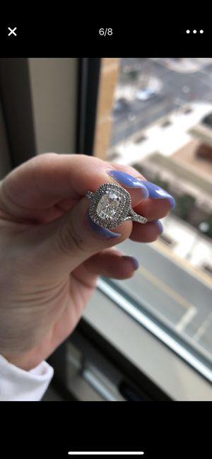 Lab Diamond ring size 6.5 for Sale in Alexandria, VA