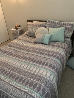 IKEA bed frame and mattress for Sale in Denver, CO