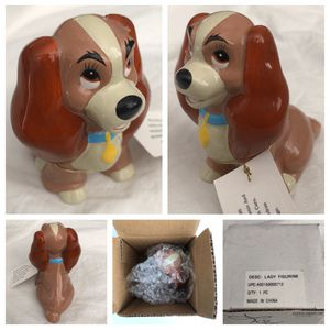 disney LADY and the tramp figurine for Sale in Santa Ana, CA