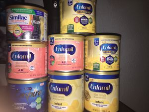 Enfamil and one Similac for Sale in Lakewood, CO
