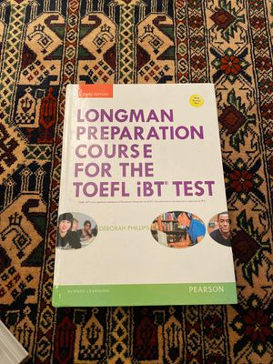 Longman Prep Course for the TOEFL iBT Test for Sale in North Bergen, NJ