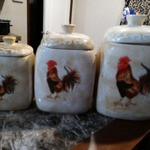 Rooster Canisters for Sale in Oklahoma City, OK
