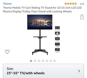 TV rolling stand for Sale in Pomona, CA