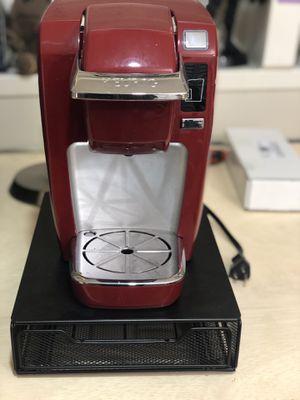 Keurig K-Mini K15 Single Serve Coffee Maker, K-cup drawer organizer included for Sale in Seattle, WA