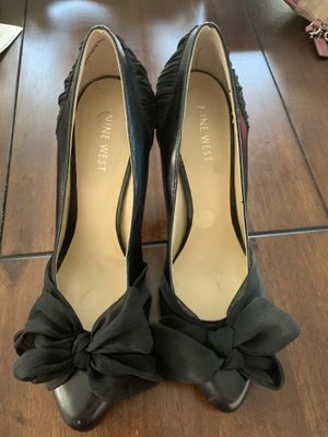 Nine West black heels for Sale in Wenatchee, WA