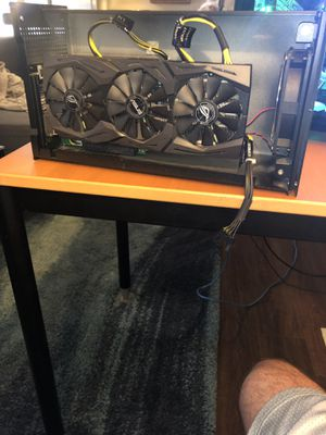 Akitio Node E- gpu + Strix ROG GTX 1060 OVERCLOCKED EDITION for Sale in Columbus, OH