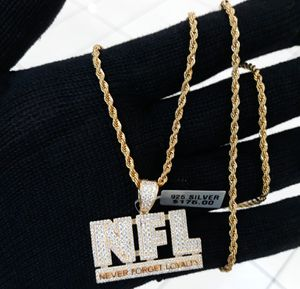 Icedout NFL Necklace for Sale in Los Angeles, CA