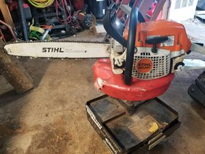 Ms 291 Chain saw blade de 20 casi nueva for Sale in Beltsville, MD