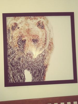 Grizzly hand painted photo for Sale in Littleton, CO