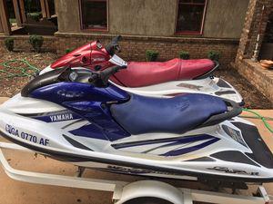 Kawasaki and Yamaha jetskis with trailer for Sale in Concord, GA
