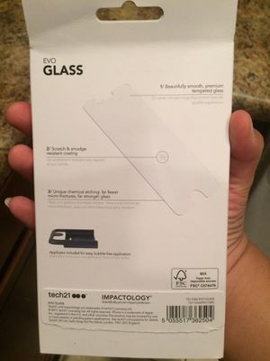 !!OPEN BOX!! Evo Glass for iPhone 7/8 for Sale in Phoenix, AZ