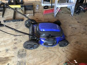 Kobalt electric mower for Sale in MO, US