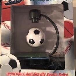 Great Christmas Present-NIB Fascinations Zero-G Sports Anti-Gravity Sports Balls Levitating Soccer Ball Factory Sealed for Sale in West Orange, NJ