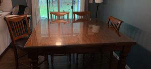 Solid wood kitchen table for Sale in Northfield, OH