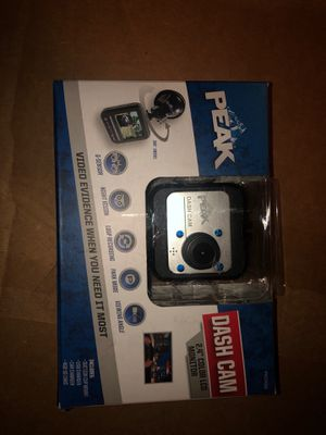 """Peak dash cam 2.4"""" color lcd monitor opened box no SD card for Sale in Corning, OH"""
