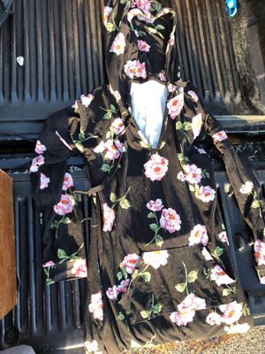Floral dress with hoodie!!! No boundaries and size medium for Sale in Valrico, FL