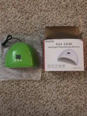 New LED nail lamp for Sale in Oklahoma City, OK