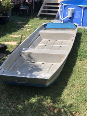 12 foot aluminum flat bottom for Sale in San Diego, CA