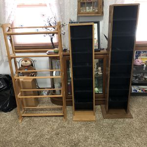 Cd or book Holders (Excellent condition) for Sale in Pittsburgh, PA