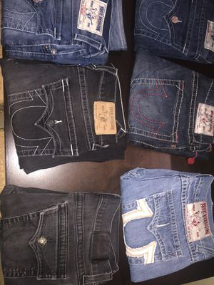 True religion jeans size 32,34 for Sale in Colma, CA