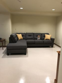 Doggie not included lol ! 1yr old couches bought in Japan / sleeper couch with Japanese mattress. for Sale in Kissimmee,  FL