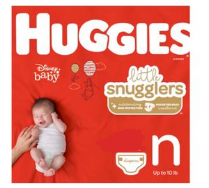 Huggies Snugglers Newborn size (49 diapers) for Sale in East Liberty, PA