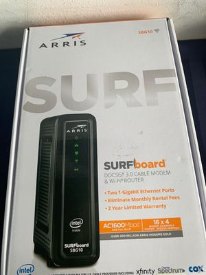 Arris Surfboard DOCSIS 3.0 Cable Modem & WiFi Router - SBG10 for Sale in Medley, FL