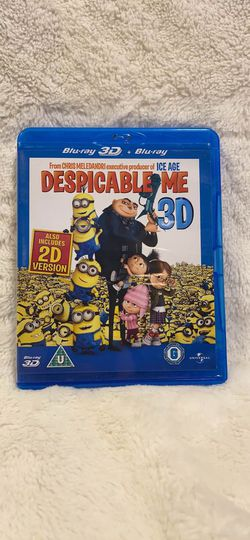 Despicable me minions movie Blu-ray region 2 for Sale in Oregon City,  OR