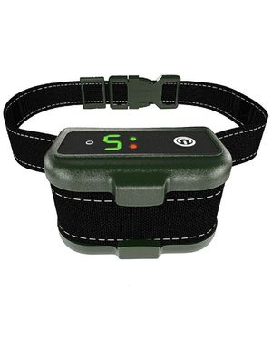 UPGRADED Q6 Rechargeable Bark Collar - Smart Barking Detection Module w/Triple Stop Anti-False Modes: Beep/Vibration/Shock for Small, Medium, Large D for Sale in Arlington Heights, IL