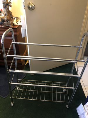 Metal Shoe Rack for Sale in Paramount, CA