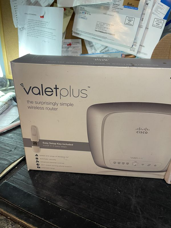 Cisco Router And Vonage Adapter