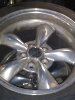 Brand of tire are extreme ZR rims are american muscle for Sale in Crewe, VA