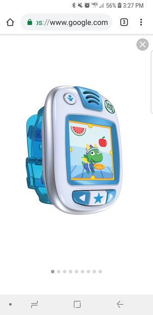 Leapfrog LeapBand Blue Learning watch for Sale in Inman, SC